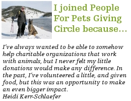 Heidi Kerr-Schlaefer Giving to Charity Through Giving Circles